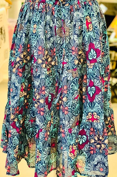 Cotton Flouncy Ruffle Skirts
