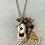 Thumbnail: Silver Birdhouse Necklaces