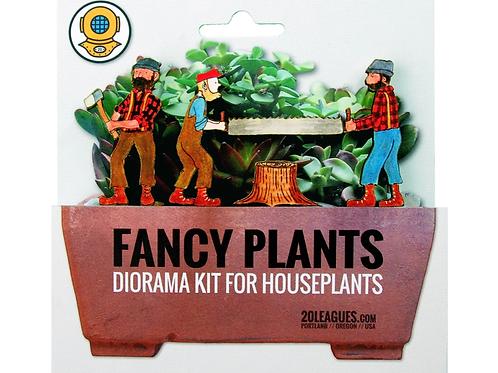 Fancy Plants Diorama