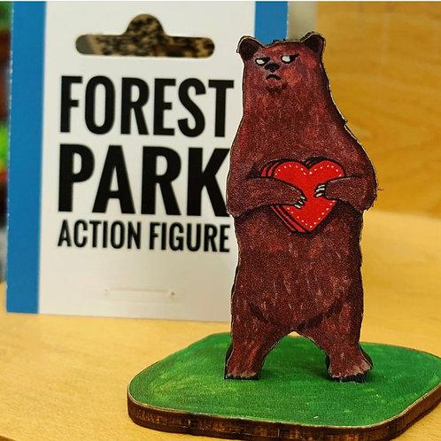 Valentine Bear Action Figure
