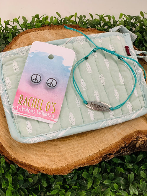 PEACE gift basket