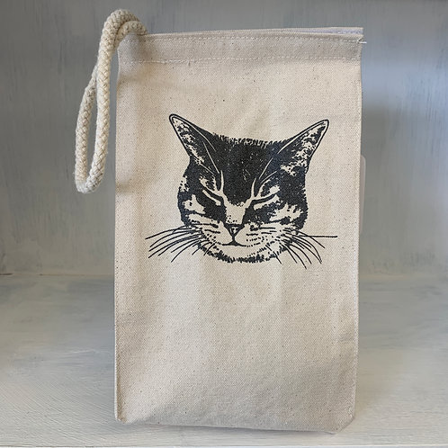 Cat eco-friendly reusable lunch bag