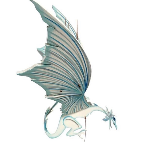 Handcrafted Flying Ice Dragon Mobile