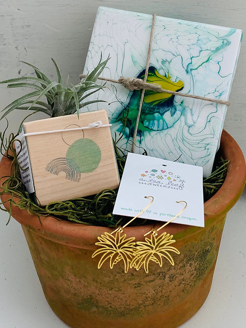 No Green Thumb Required Gift Basket