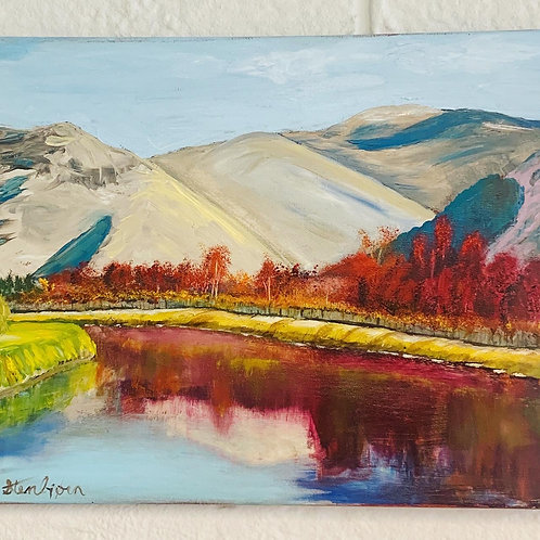 Caledonian Canal Painting
