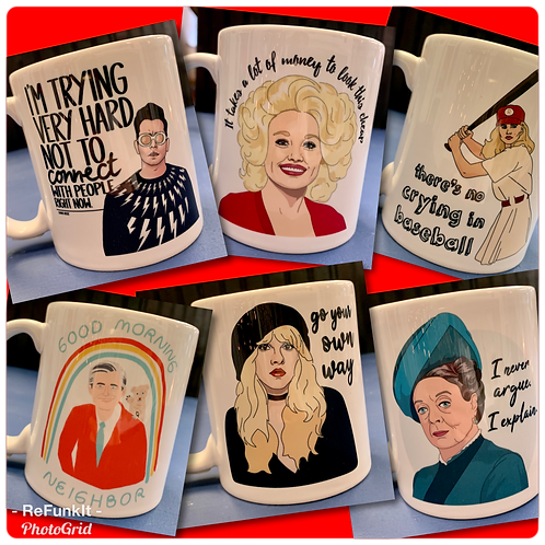 Pop Culture Ceramic Mugs