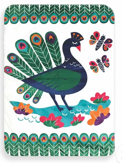 Peacock Baby Playmat