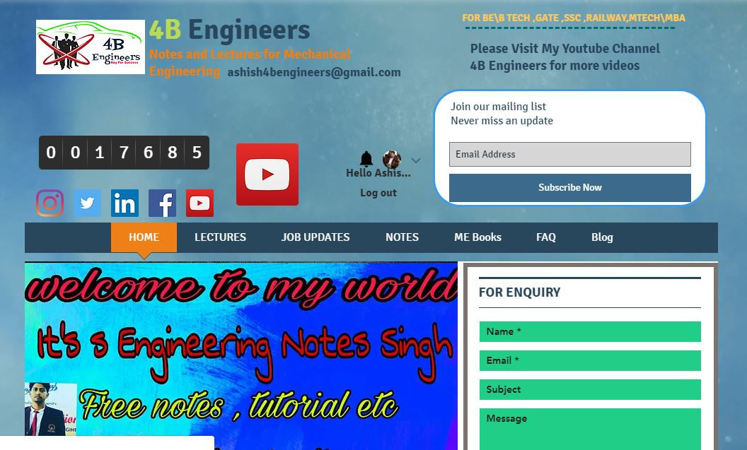 Online Mechanical Engineering Classes | 4B Engineers | Madhya Pradesh
