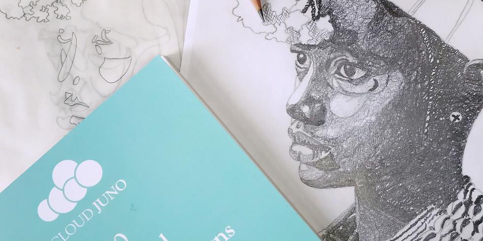 Designing for Embroidery : Blackwork (realism)