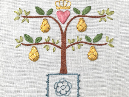 Espalier Tree - Pear | Stumpwork