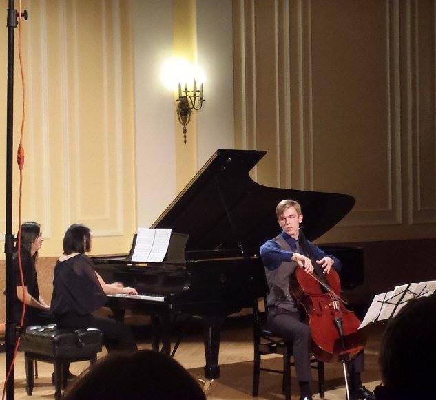 NEC Master's recital