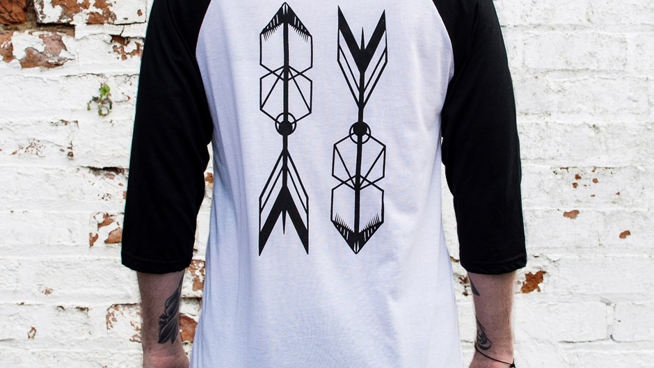Arrow Baseball T-Shirt