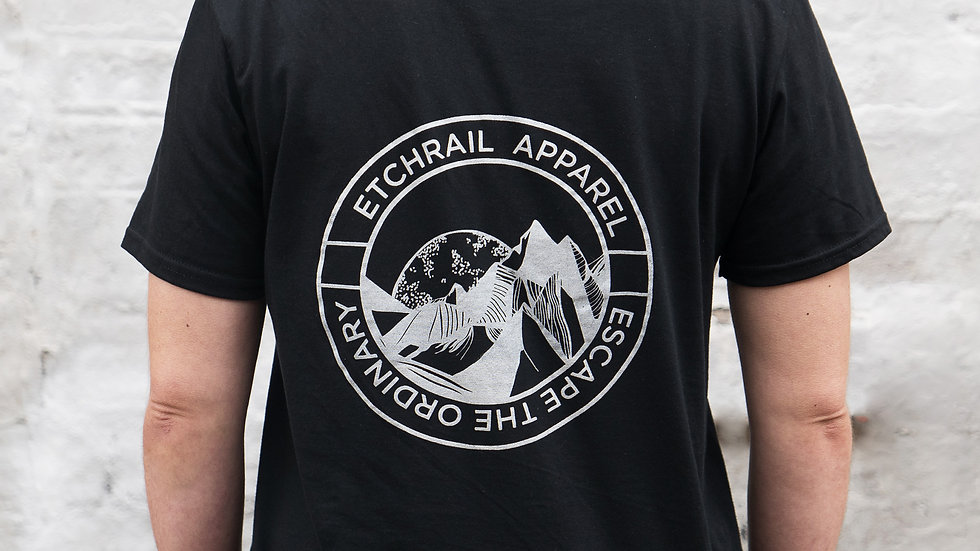 Escape the Ordinary Black T-shirt