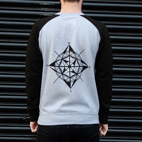 Compass Back Print Sweatshirt