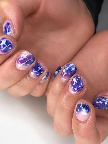 Celestial Nail Art