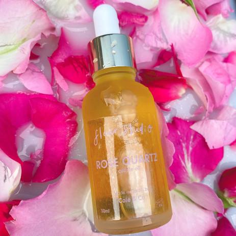 fleurstudio rose quartz cuticle oil