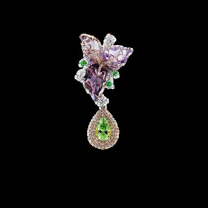 Enchanted Floral Pendant