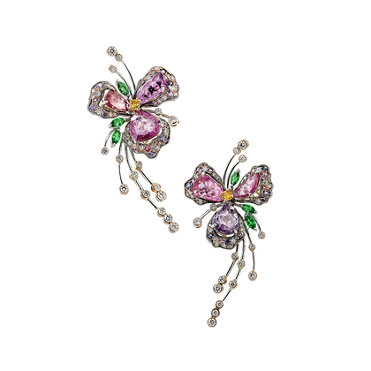 Enchanted Floral Earring