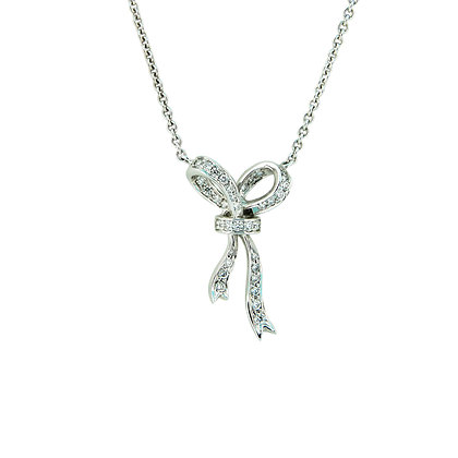 Ribbon Necklace (SMALL)