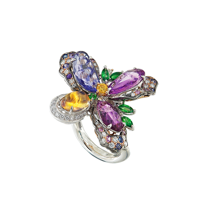 Enchanted Floral Ring