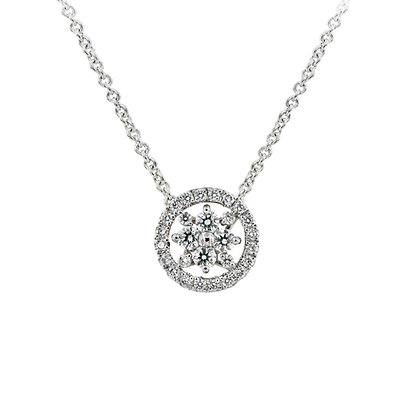 In Europe with Love Diamond Necklace