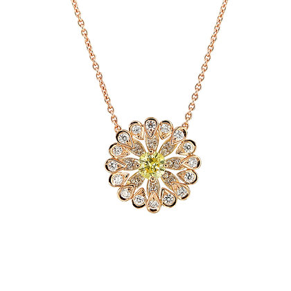 Gerbera Necklace