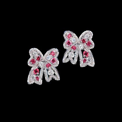 Butterfly Spinel Earring