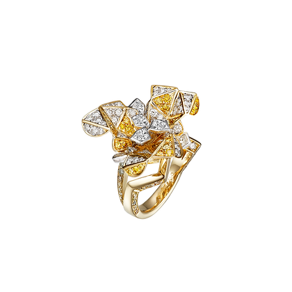 Cubism Diamond Ring