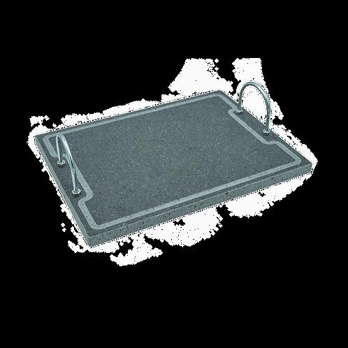 Lava Grill Plus M - Bistecchiera con manici 40x30x2 cm