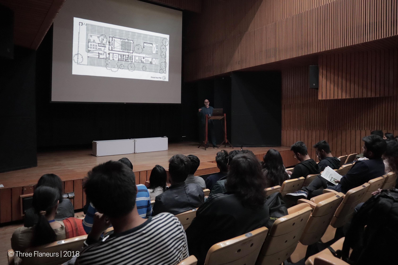 Event #1 - Alliance Française de Delhi by S.P.A. Design
