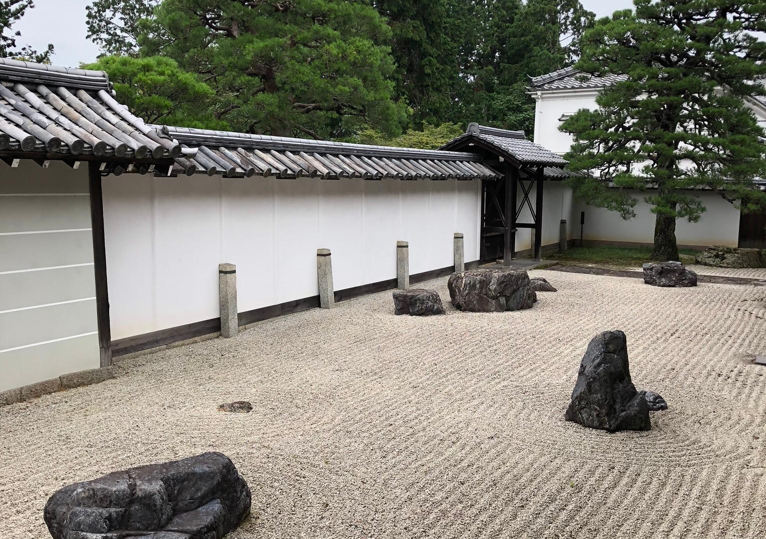 Zen garden at the Nanzen-ji Temple, Kyoto
