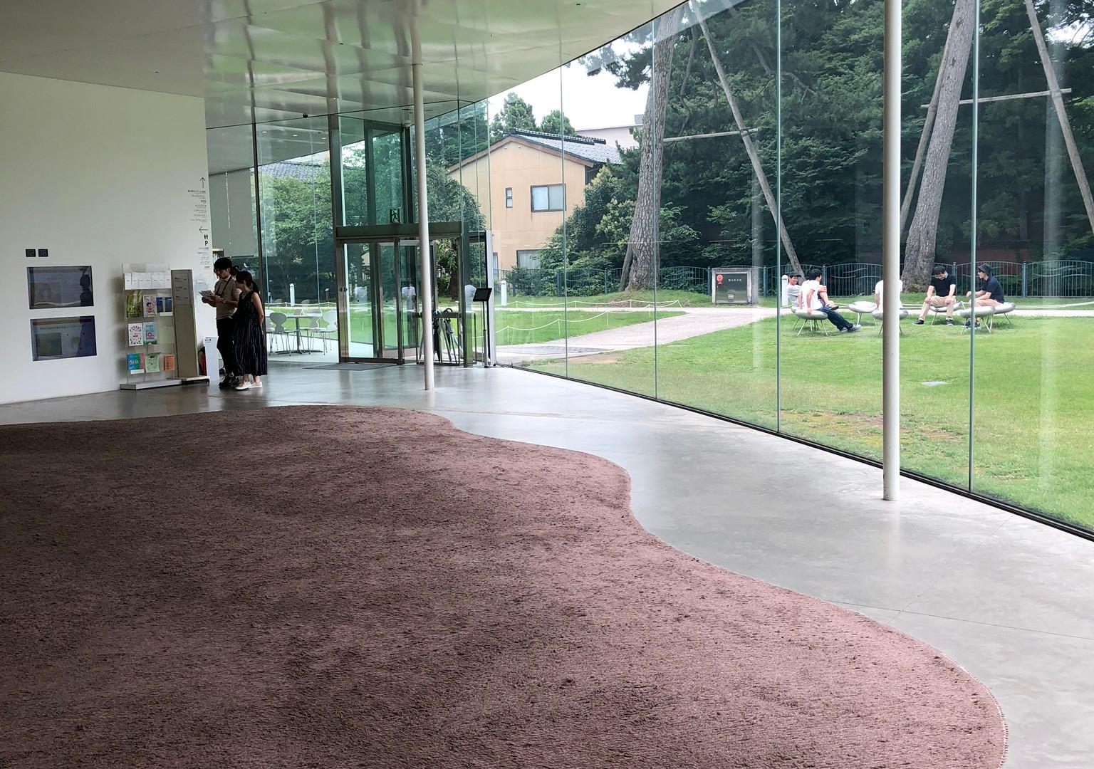 21st Century Museum of Contemporary Art, Kanazawa; designed by Sanaa