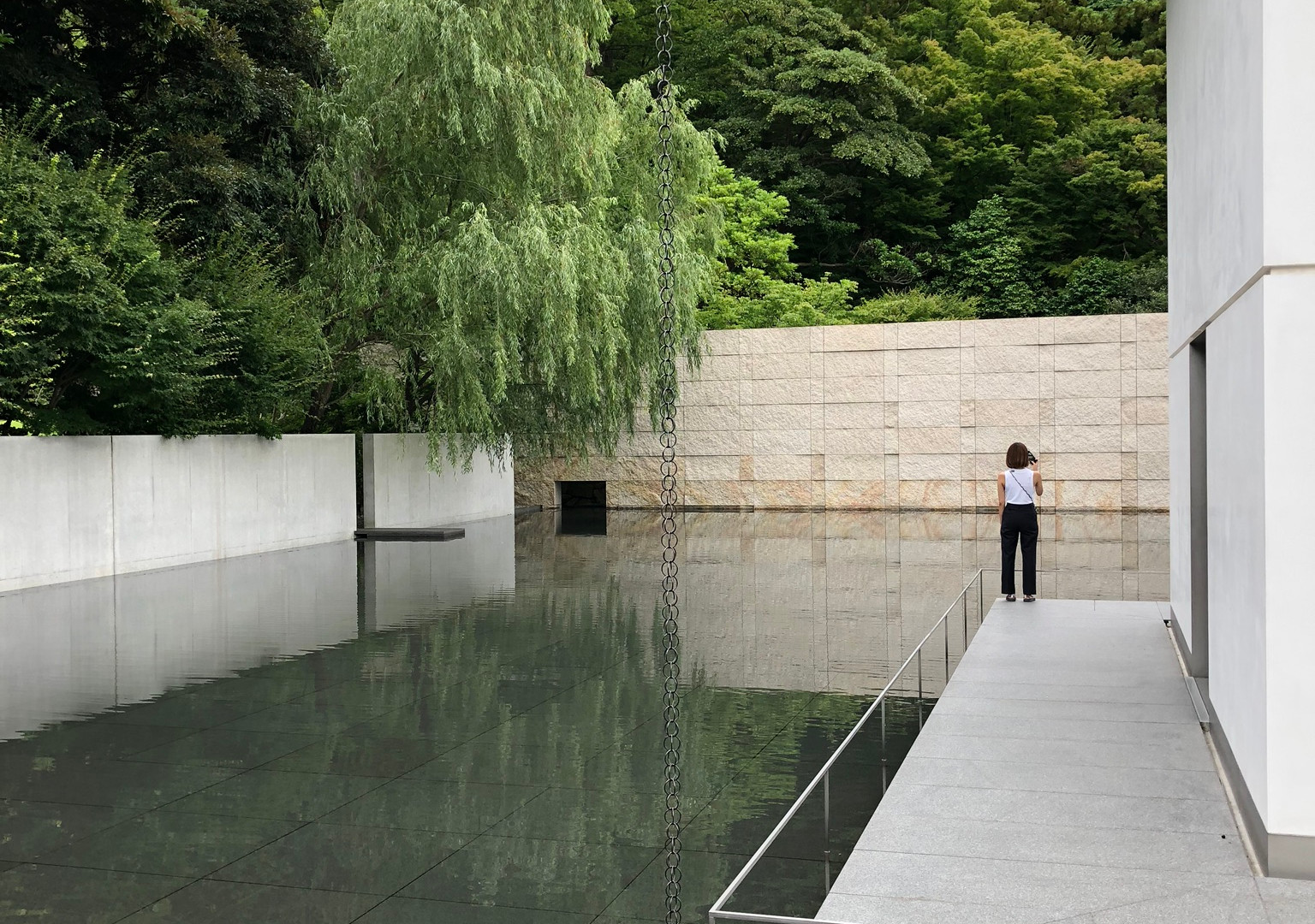 D.T. Suzuki Museum; designed by Yoshio Taniguchi