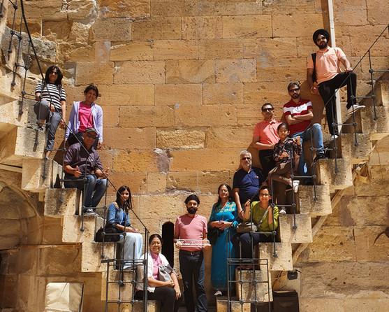 Group in Cappadocia