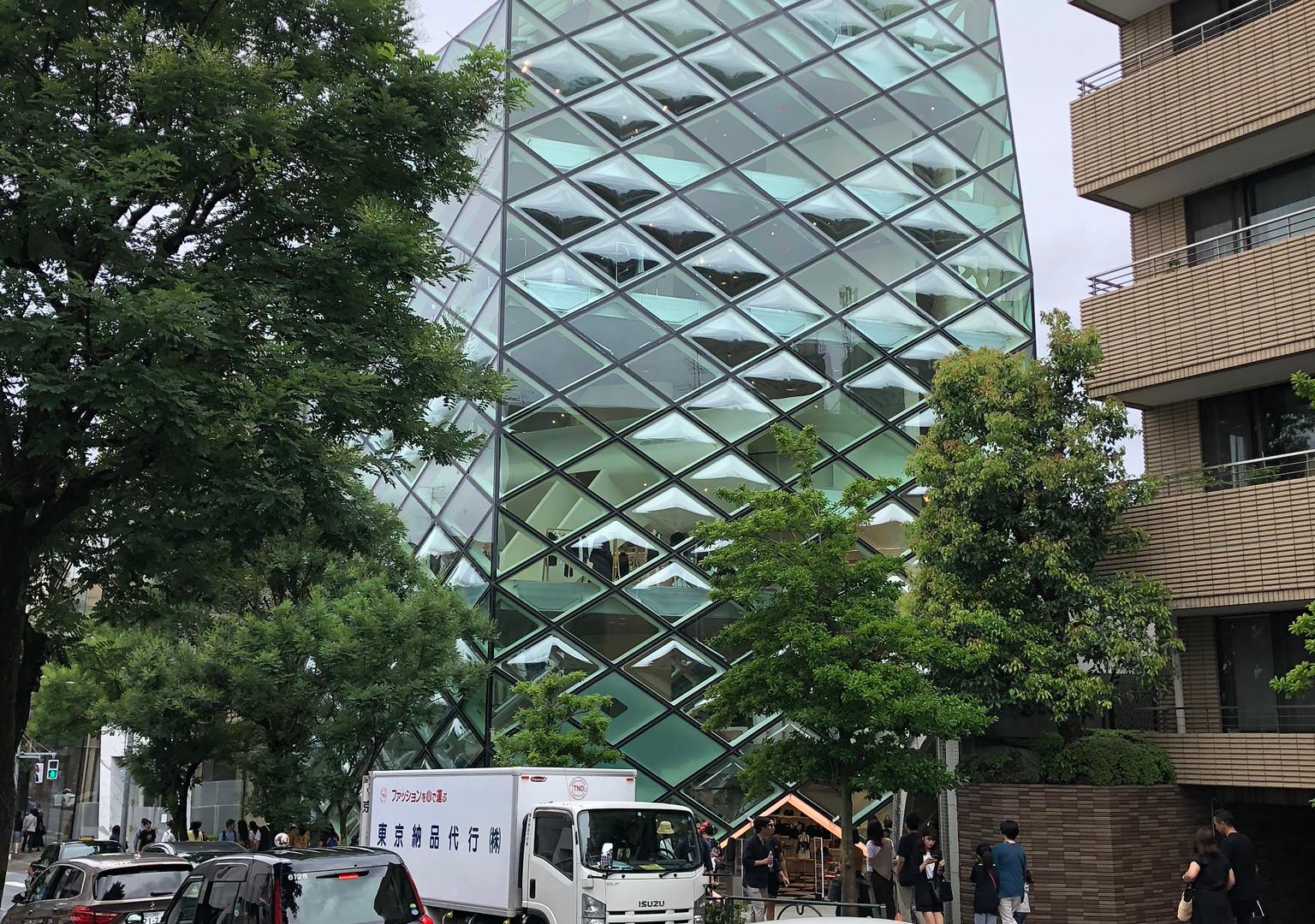 Prada Store - Aoyama; designed by Herzog and de Meuron