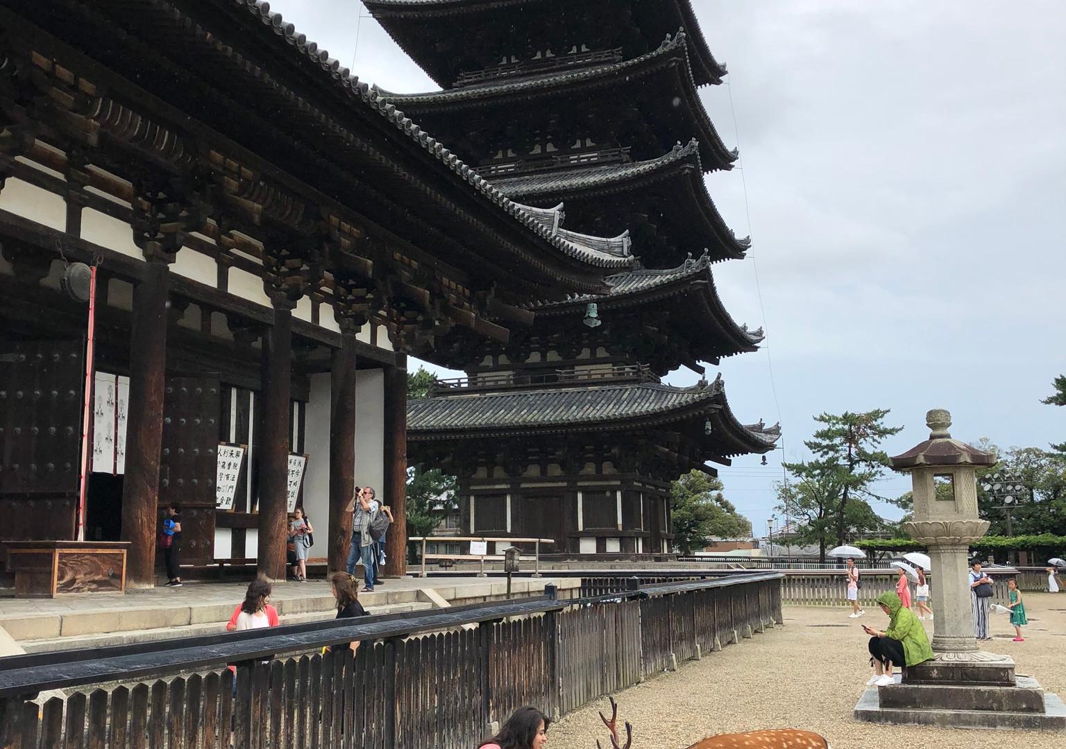 Kofukuji Temple Tower, Nara