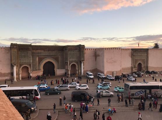 Lahdim Square, Meknes