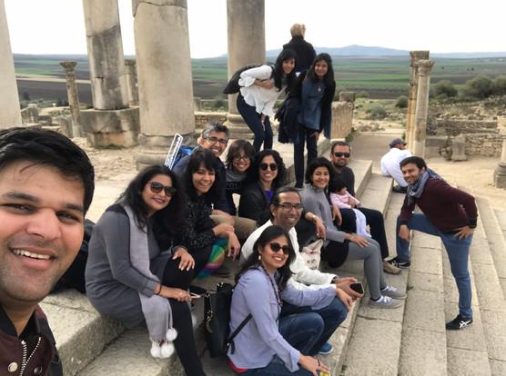 Group at Volubilis