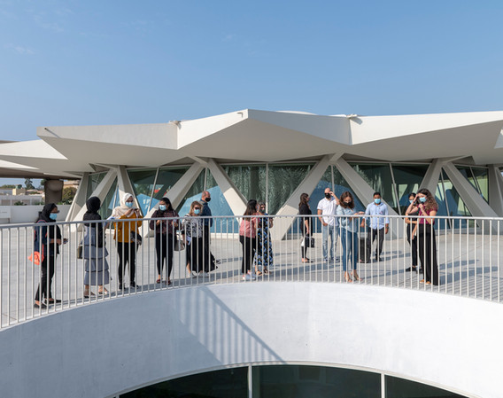 Emirates Architecture Open at The Flying Saucer (designed by Sharjah Art Foundation & SpaceContinuum Design Studio)