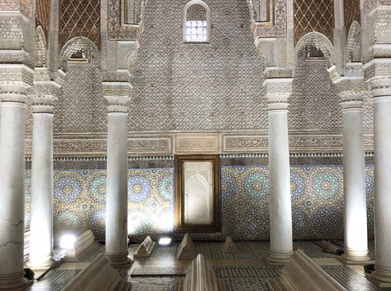 Saadien's Tombs, Marrakech