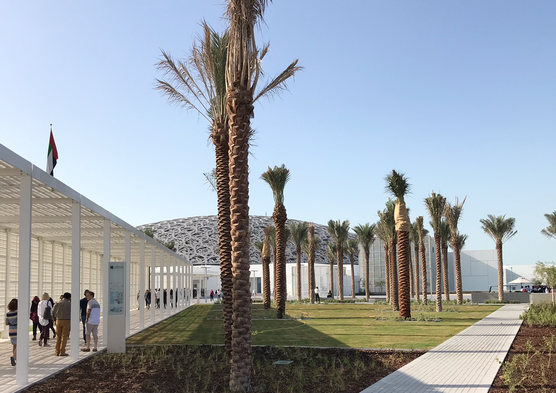 Louvre Abu Dhabi; designed by Jean Nouvel