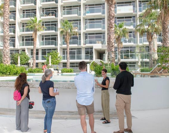 Emirates Architecture Open at Hameni Tower (landscape design by Kamelia Landscape)