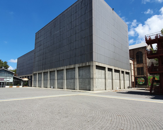 Santral Istanbul Museum of Contemporary Arts; designed by Emre Arolat Architects + NSMH