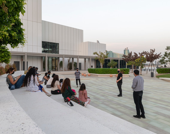 Emirates Architecture Open at Jaddaf Waterfront Art Park (designed by waiwai)
