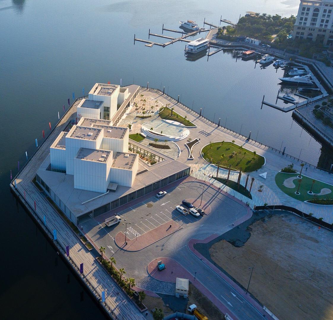 Jameel Art Centre; designed by Serie + Waiwai Design