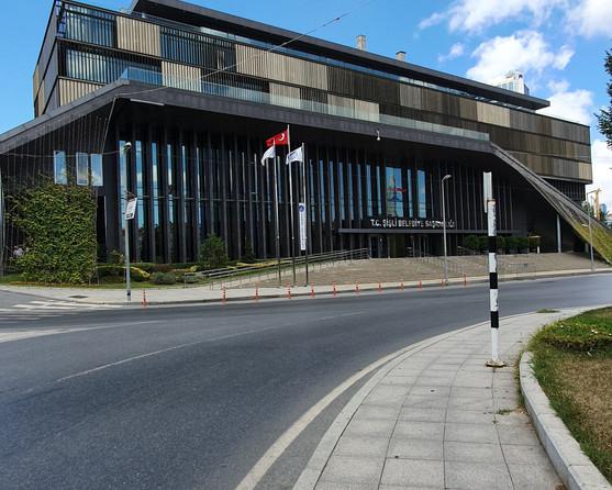 Sisli City Hall; designed by Boran Ekinci Mimarlik + Hakan Dalokay Mimarlik
