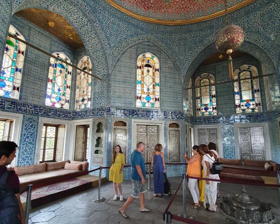 Inside the Topkapı Palace