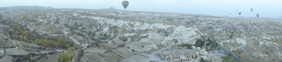 High Flying in Cappadocia