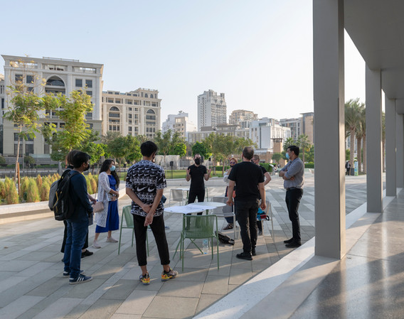 Emirates Architecture Open at Jameel Arts Centre (designed by Serie Architects + waiwai)