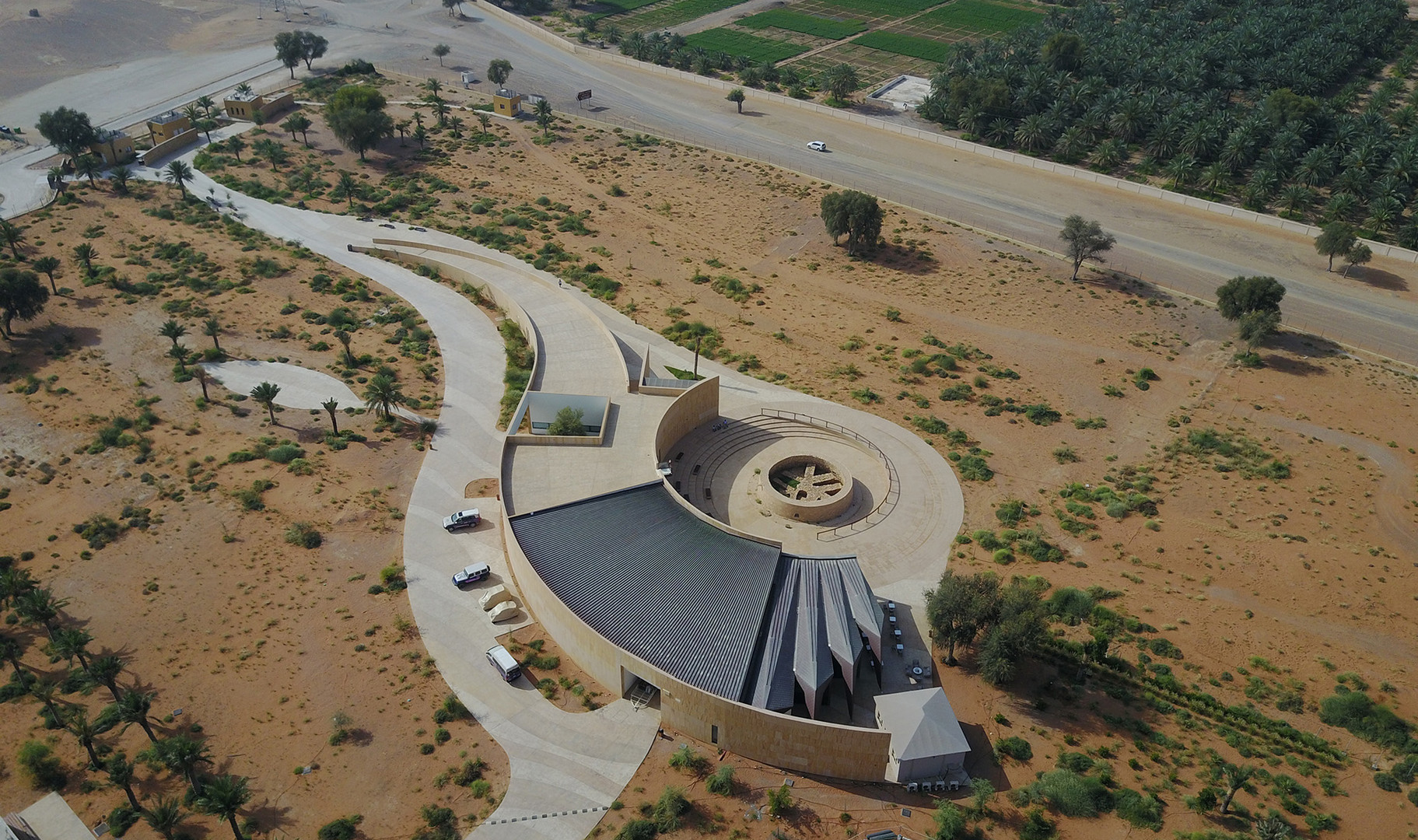 Mleiha Archaeological Centre; designed by Dabbagh Architects